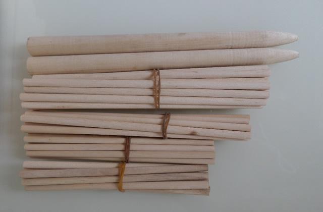 Wooden round stick